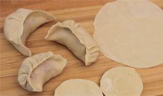 Recette - Pâte à raviolis Chinois en vidéo