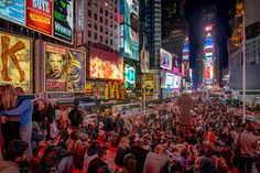 Time Square and Broadway (by Jan Rechenberg) New York City, Times Square, Broadway, Explore, Travel, Cities, Viajes, New York, Destinations