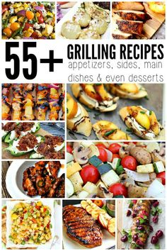 55+ Grilling Recipes ~ Keep the kitchen cool this summer with these stunning recipe ideas for the perfect summer cookout! ~ from www.missinformationblog.com
