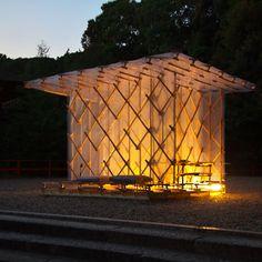 Shimogamo Jinja Hojoan by Kengo Kuma and Associates via dezeen