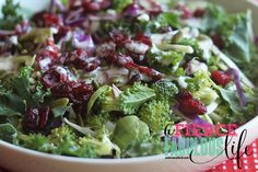 Kale Broccoli Cabbage Salad with Creamy Lemon Poppy Seed Dressing - Photo 3