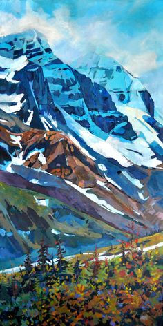 Randy Hayashi ~ Mount Andromeda, Columbia Icefields, glaciers, Alberta, Rocky Mountains