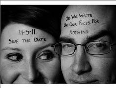 Crazy awesome Save the Dates! Great idea!