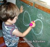 """Easy OT Activities For Crossing The Midline  by """"OT Mom Learning Activities"""".  Pinned by SOS Inc. Resources.  Follow all our boards at http://pinterest.com/sostherapy  for therapy resources."""