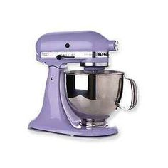 LAVENDER Kitchenaid mixer!! :) Lester LOVES!