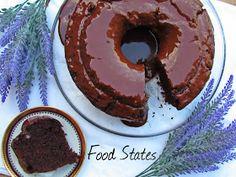Κέικ σοκολάτας (υγρό και νηστίσιμο) - Food States Doughnut, Desserts, Blog, Tailgate Desserts, Deserts, Postres, Blogging, Dessert, Plated Desserts