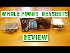Our second video is out and is a quick change of pace from the first. Check it out and don't forget to SMASH that like button on the video. Being vegan doesn't mean you have to give up the little things in life like dessert and chocolate! Whole Foods Vegan Dessert review