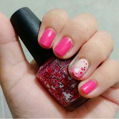 #NailArt #NailPolish #Nails #Nail #NailPolishAddict #AdictasALosEsmaltes #Pink
