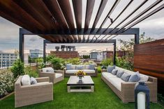 Deciding to purchase or build a pergola for your home is an exciting experience. A pergola will add a special […] Terrace Garden Design, Rooftop Design, Patio Design, Balcony Garden, Building A Pergola, Pergola Plans, Pergola Kits, Pergola Ideas, Building Plans