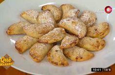 Prepará esta deliciosa receta para disfrutarla junto a tus amigos y familia. Pretzel Bites, Bread, Vegetables, Ariel, Food, Sweet Recipes, Deserts, Meals, Friends