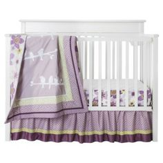 Lambs & Ivy Calliope 3pc Baby Girl Bedding Set