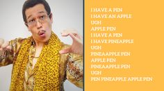Lagu Pen Pineapple Apple Pen (PPAP), dari mulai Youtube, Facebook, dan medsos lainnya yaitu PPAP atau Pen Pineapple Apple Pen, lagu ini belum lama dirilis