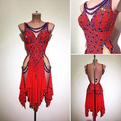 #abrahammartinez #newdress #latin #red #lightsiam #swarovski #design #designer #forsale FOR SALE!