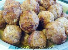 Greek Meatballs made with Babycakes Cake Pop Maker