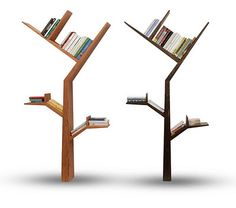 book tree bookshelf designed by Kostas Syrtariotis, G Mobili http://www.kdsgn.it/projects.html http://www.gfmobili.com/ #bookshelves #organization