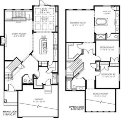 Victor model home floor plan by pacesetter homes edmonton the gabriel model home by pacesetter homes edmonton malvernweather Image collections