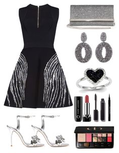 """""""Untitled #64"""" by tazkiasaras ❤ liked on Polyvore featuring Zuhair Murad, Sophia Webster, Oscar de la Renta, Jimmy Choo, Kevin Jewelers, Christian Dior, Chanel, Givenchy and Marc Jacobs"""