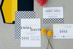 love these invitations by Pink Piggy Design