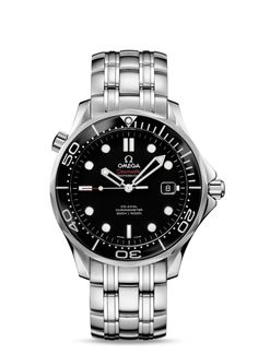 Omega Seamaster Diver - 300 M - Co-Axial 41mm - Steel on Steel - Ref. 212.30.41.20.01.003 $4400 MSRP