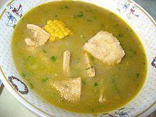 sancocho - comfort food, latin american style