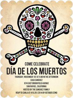 DIA DE LOS MUERTOS/DAY OF THE DEAD~poster