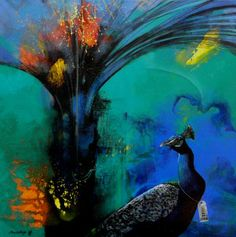 "New artwork added on IndianArtCollectors.com ""More Beautiful"" by Pradip Sengupta Acrylic On Canvas, Size(inches): 24X24 See more artworks by Pradip Sengupta at: http://www.indianartcollectors.com/artist/PradipSengupta"