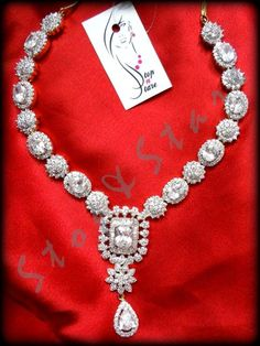 Nice Silver Necklace #Fashion