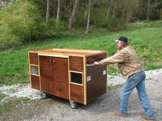 Homeless shelter on wheels.... such a cool article, with pictures of the interior.