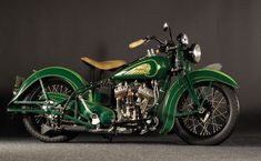 1937 Indian Scout Sport Motorcycle