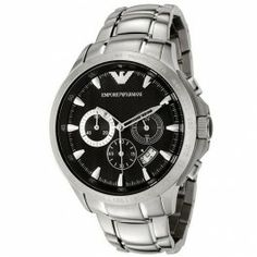 Emporio Armani Gents Sport Chronograph Stainless Steel Bracelet WatchAR0636