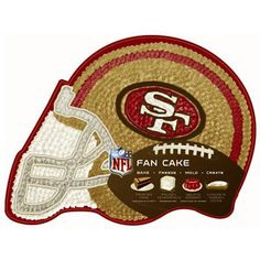 The big game is February 3! San Fransisco fans will go crazy over this 49ers cake pan!