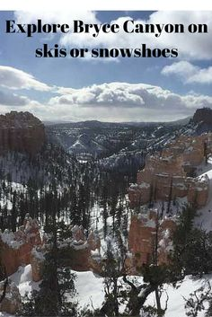 Explore Bryce Canyon in Utah for fun year-round fun.