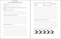 4th Grade Book Report *pdf alert*