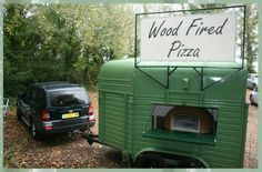 Horsebox pizza van