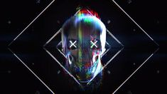 Buy Skull Glitch Logo by constantium on VideoHive. Project features: Full HD resolution Video tutorial included After Effects and above Fonts used Ava Meridian Soun. Video Effects, After Effects, Glitch Font, Death Note Funny, Game Logo Design, Branding Design, Green Background Video, Game Wallpaper Iphone, Youtube Design