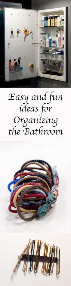 Organizing the Bathroom - Life Currents