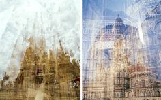 multiple exposure photographs by photographer Doug Keyes