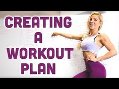 (22) How To Create A WORKOUT PLAN - YouTube