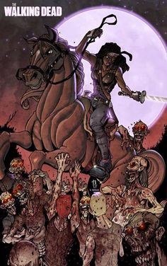 Hardcore The Walking Dead ~ Puis Calzado Artwork