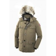 Canada Goose Banff Parka for Mens in Tan