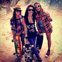 It would be so cool to have friends to long board with. FRIENDSHIP GOALS 101