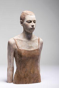 Bruno Walpoth - Wood Sculpture - Contemporary Artist