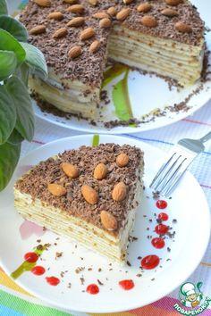 """Торт """"Нежность"""" - кулинарный рецепт"""
