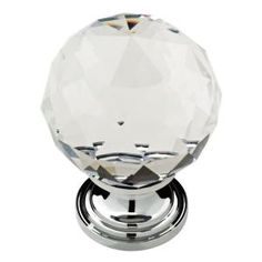 Liberty, 1-3/16 in. Chrome Faceted Crystal Knob, P30779C-CHC-CP at The Home Depot - Mobile