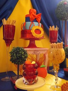 Lovely Snow White Birthday Party!  See more party ideas at CatchMyParty.com!