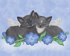 """Snuggle Angels"" par Melissa Dawn"