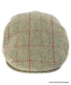 Heather Hats Fox Derby tweed Flat Cap - Red Stripe Traditional flat cap made from British Derby Tweed This rugged cap has a good deep back so it is Country Hats, Tweed Run, Rugged Men, Flat Cap, Back Stitch, Caps Hats, Grosgrain, Blue Stripes, Derby