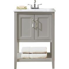 """Empire Industries SB24-SN Satin Stainless Steel South Beach South Beach  24"""" Console for"""
