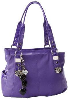 KATHY Van Zeeland For Keeps Satchel,Grape,One Size - Price:$99.00 [ http://fashion.katalique.com/kathy-van-zeeland-for-keeps-satchelgrapeone-size/ ]