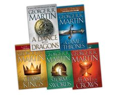 Game of Thrones Series, books are better than the show!